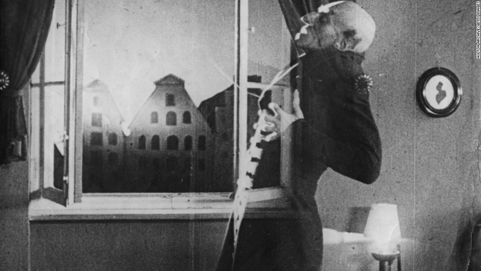 "Max Schreck's Count Orlok in 1922's silent masterpiece ""Nosferatu"" is the granddaddy of the movie vampire. Appropriately ghoulish and frightening, ""Nosferatu,"" based on Bram Stoker's ""Dracula,"" is considered a gold standard of the genre."