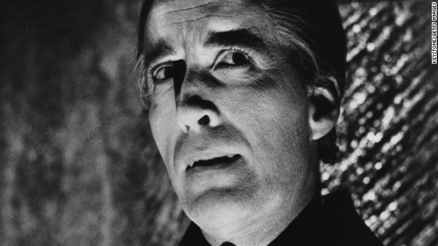 1968:  Christopher Lee as Dracula, from the film 'Dracula Has Risen From The Grave', directed by Freddie Francis for Hammer.  (Photo by Keystone/Getty Images)