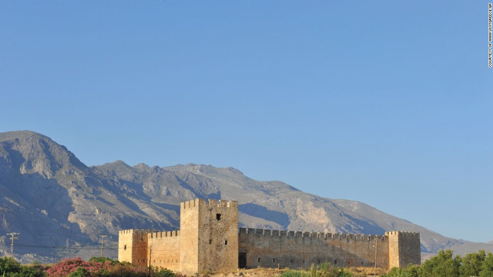 Seaplanes could open up southern Crete, including locations such as Frangokastello castle, to more exploration.