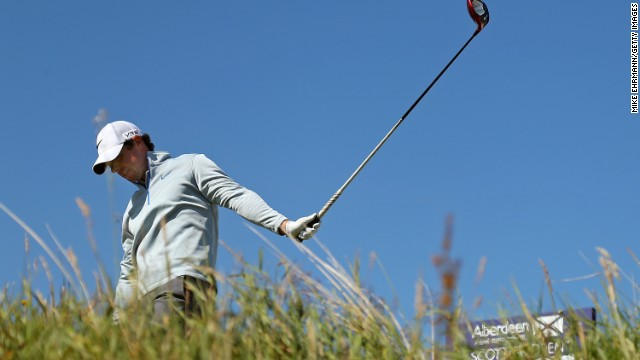 There was no place to hide for Rory McIlroy at the Scottish Open on Friday after he shot a 78.