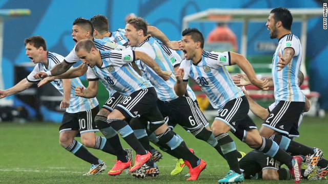 Germany and Argentina face off in Rio
