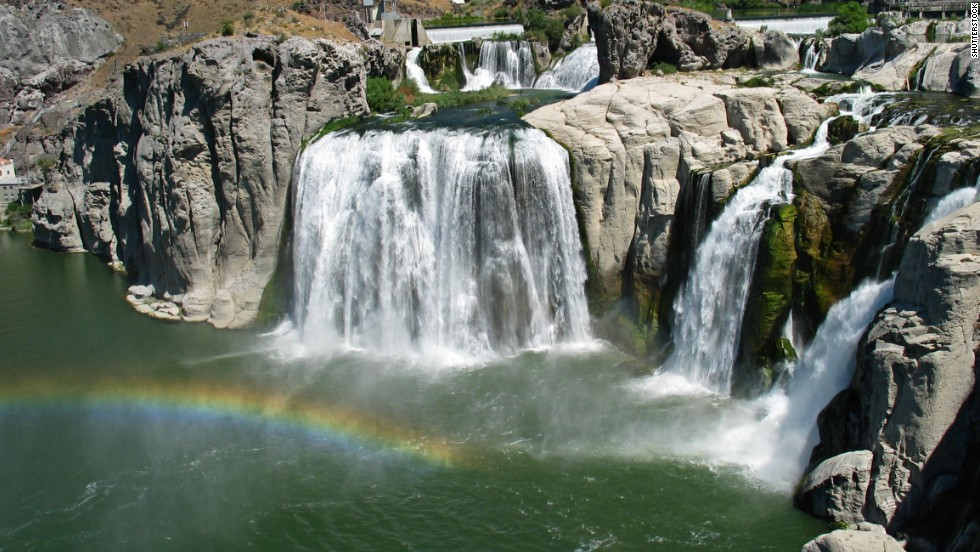 Shoshone Falls, in Twin Falls, Idaho, is even taller than Niagara Falls. Go in the spring and early summer to see the falls at their most powerful.