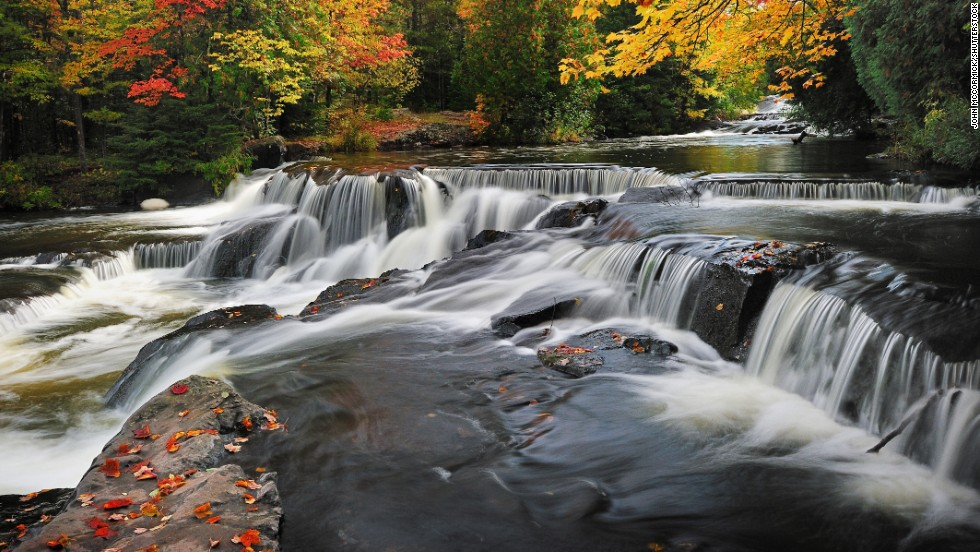 10 Beautiful Waterfalls Across The U S Cnn Com