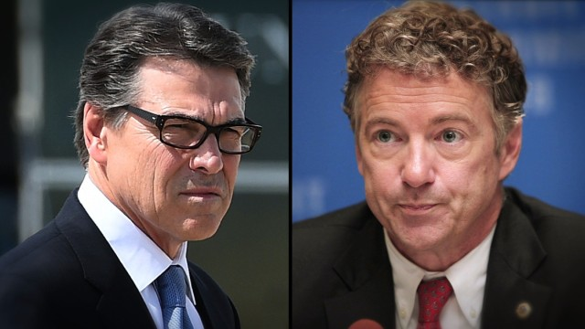 Rand Paul takes aim at Rick Perry