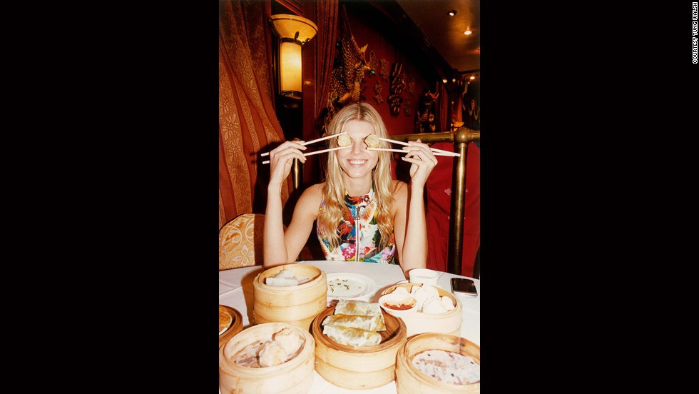 """MARYNA WITH DUMPLINGS CHINATOWN NYC,"" TUNG WALSH (2012)<br /><br /><strong>CNN: You have said that two characteristics of the photographers featured are variety and hybrid. So, these days, anything goes?</strong><br /><br /><strong>MK</strong>: Photography has changed immensely in the last 20 years, and even in the last five to 10 years. Technologies that people work with and platforms for dissemination of images have changed so rapidly that ... there are so many more opportunities for ... how and where one might show work.<br /><br />In that sense, some of the boundaries or limitations (previous generations dealt with) making fashion imagery have broken down. Like in photography more generally, the genre definitions such as still life, portraiture or studio work now don't exist in such a pure form. A photo can now be all of those things."