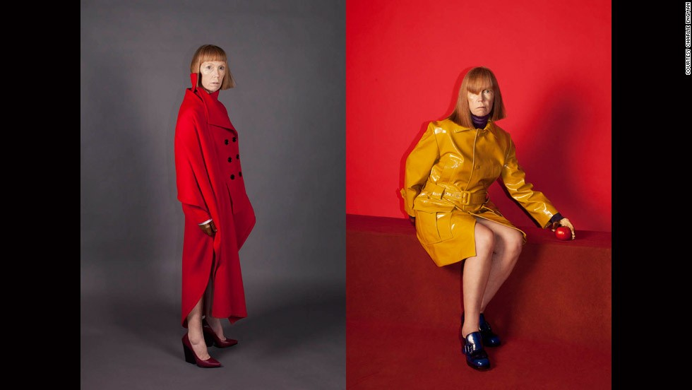 """MOM KETCHUP AND MUSTARD,"" FROM THE SERIES ""MOM 2012,"" CHARLIE ENGMAN (2012)<br /><br /><strong>MK</strong>: How you might go about being a fashion photographer isn't the same now. A few generations ago, the path would have been to study photography and then assist a well-known photographer for a number of years, but now there are so many platforms for showing your work.<br /><br />Two of the photographer in the exhibition, <a href=""http://charlieengman.com/"" target=""_blank"">Charlie Engman</a> and <a href=""http://www.harleyweir.com/"" target=""_blank"">Harley Weir</a> ... were discovered through posting work on Flickr."