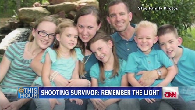 Lone shooting survivor remembers family