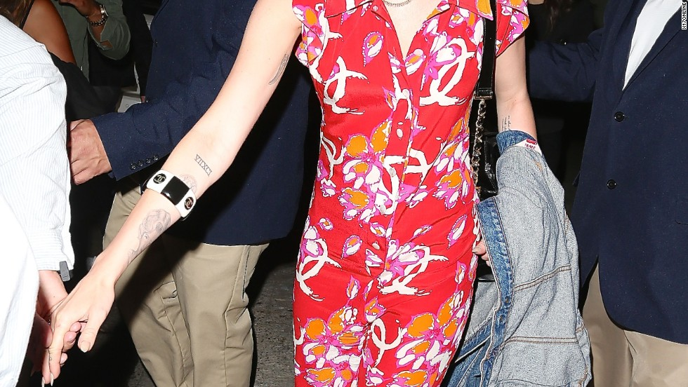 Miley Cyrus brings a tropical vibe to Los Angeles club Warwick on July 11.