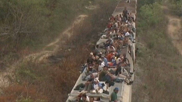Migrants' harsh journey through Mexico