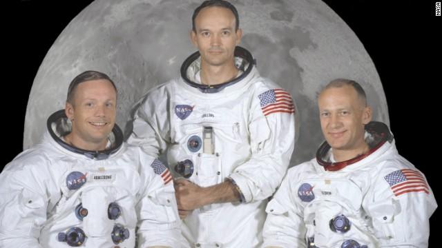 Moon landing; Rare footage, fresh story