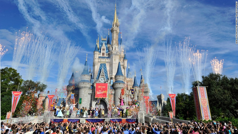 The Disney empire claims several entries on TripAdvisor's best park lists. Magic Kingdom in Orlando was named the world's fourth best amusement park.