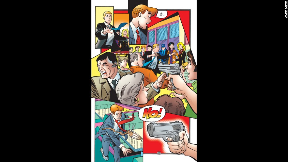 There is an assassination attempt on Sen. Kevin Keller, Archie's best friend and the comic series' first openly gay character.