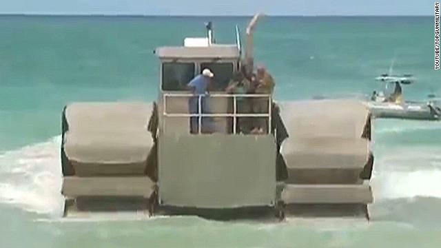 U.S. tests coolest amphibious vehicle