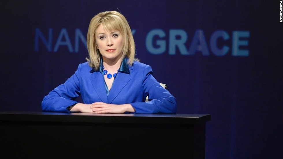Deadline also reported that Noel Wells -- who garnered some buzz for her portrayal of HLN's Nancy Grace -- will not be returning after her single season from 2013 to 2014.