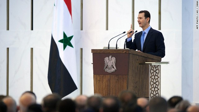 Bashar al-Assad sworn in for 7-year term