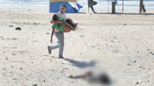 He captured deadly Gaza beach scene
