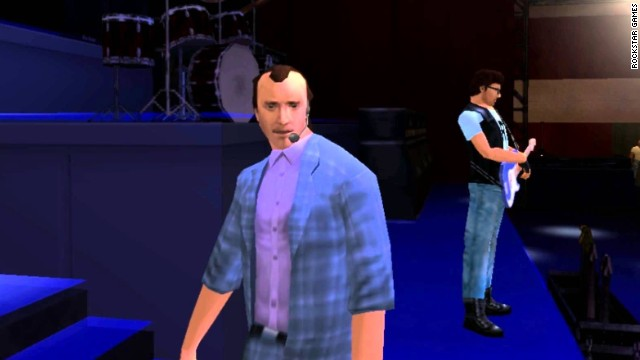 "The popular street-crime series, ""Grand Theft Auto,"" has featured the images and voices of a host of real celebrities. But singer/musician Phil Collins was the first. In 2006's ""Vice City Stories,"" Collins played himself in a story in which the player tries to protect him from a mob hit. After completing the mission, the player can attend a concert at which Collins performs his hit, ""Coming in the Air Tonight."" It makes sense. Collins appeared on the '80s TV series ""Miami Vice,"" which inspired the game."