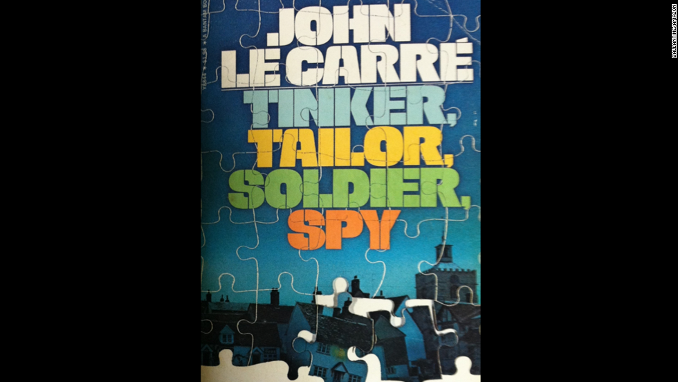 """Tinker, Tailor, Soldier, Spy,"" the first novel of John LeCarre's Karla Trilogy, debuted in June 1974."