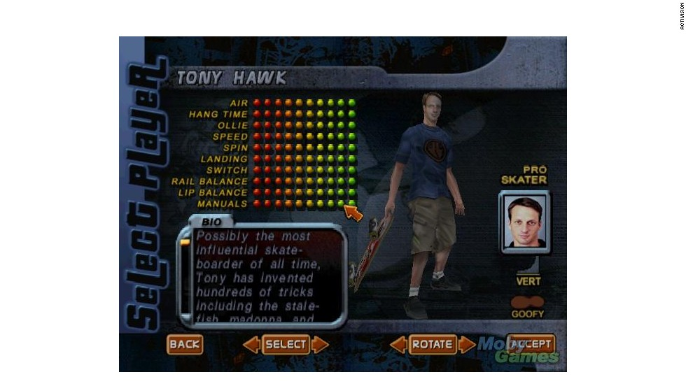"""""""Tony Hawk's Pro Skater"""" revolutionized sports games, and since it launched in 1999, no shortage of famous folks have appeared to take a turn in the half-pipe. Tattoo artist Kat Von D, Green Day frontman Billy Joe Armstrong and rapper Lil Jon are just a few who have appeared -- in addition, of course, to Hawk himself."""