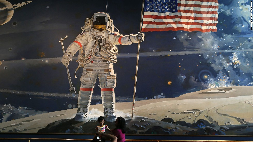 Visited by millions each year, the Smithsonian's National Air and Space Museum in Washington is home to several Apollo lunar modules built for the moon-landing program.