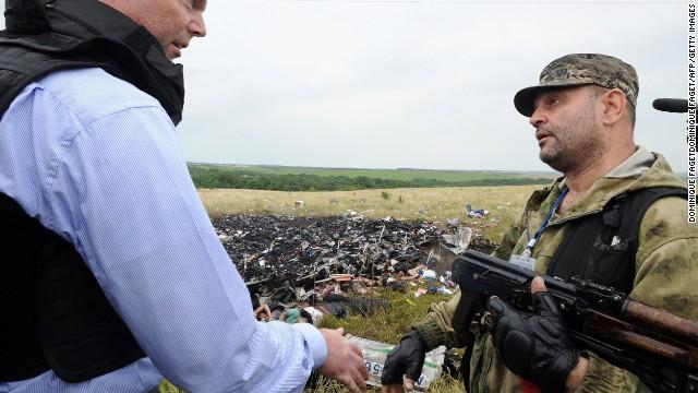 OSCE: Bodies decomposing at crash site