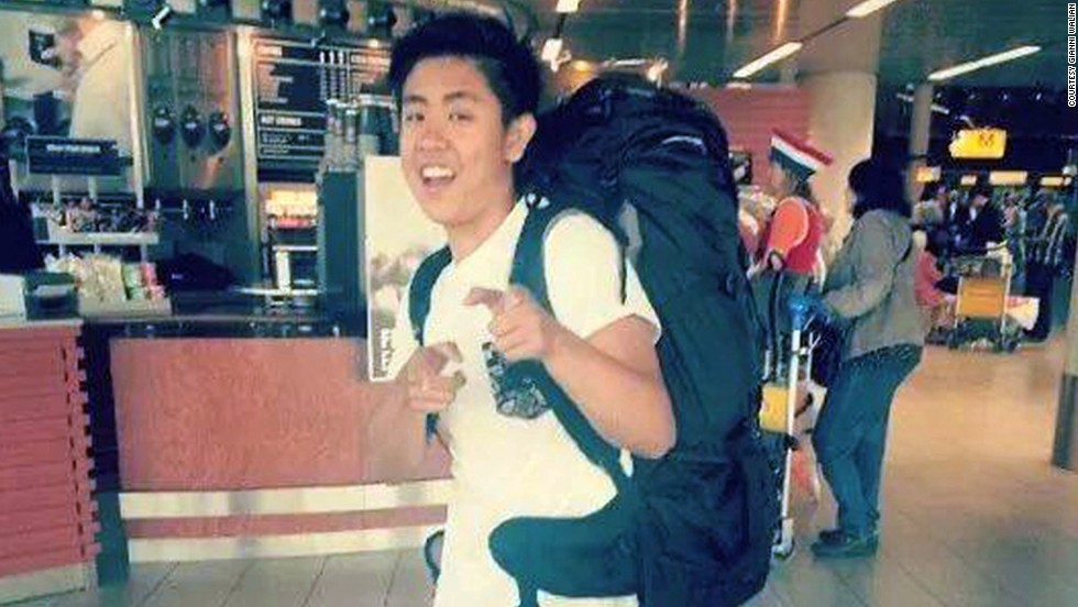 Darryl Dwight Gunawan, 20, was traveling home to the Philippines after a summer vacation with his family.  His mother, Irene Gunawan, 54, and sister Sheryl Shania Gunawan, 15, were also aboard.