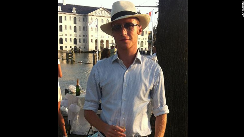 Pim de Kuijer was also on his way to the International AIDS Conference.