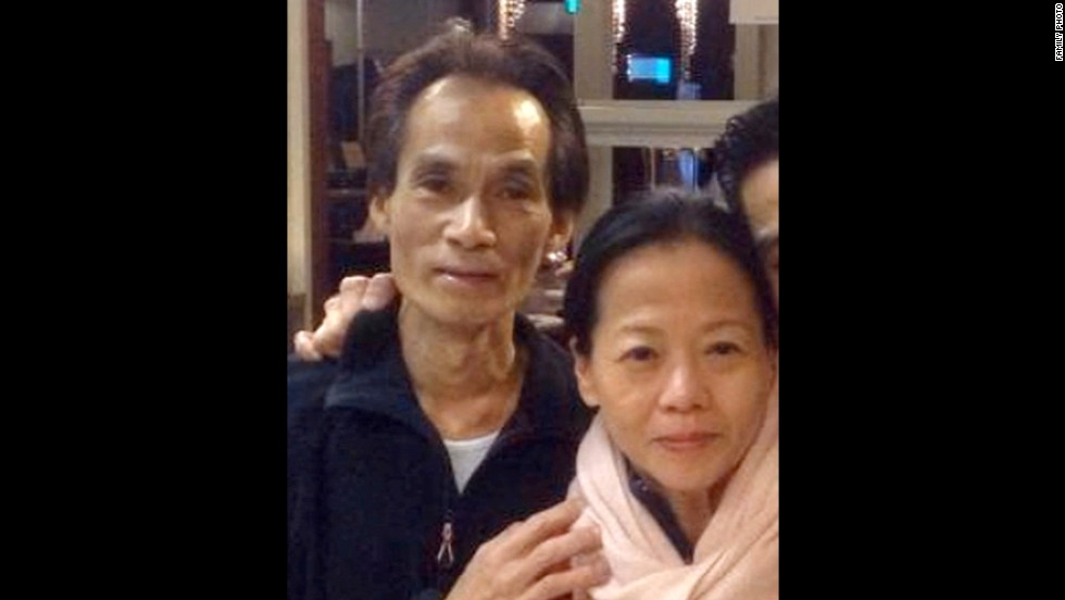 Shun Poh Fan and wife Jenny Loh were restaurant owners in the Netherlands.