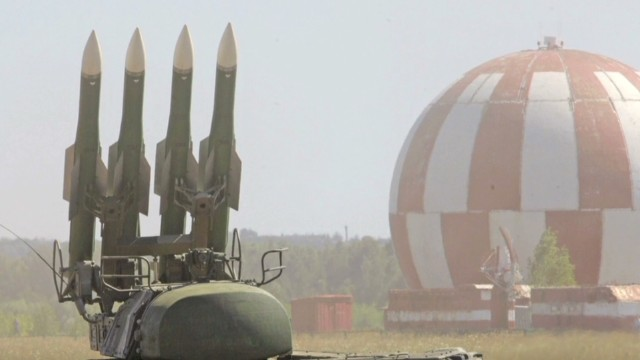 How did weapons get to Eastern Ukraine?