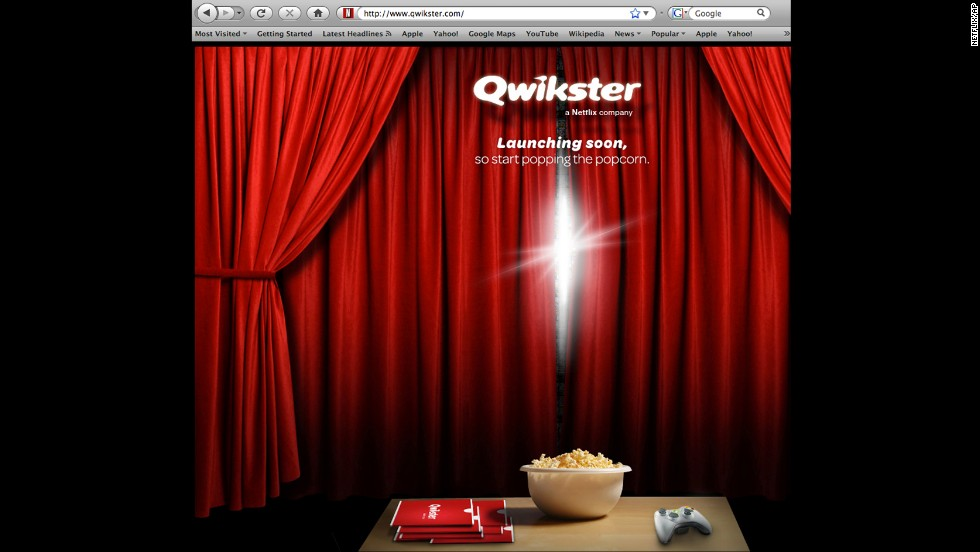 In an attempt to split its DVD and streaming businesses, Netflix created Qwikster for DVD distribution in 2011. Within a month, consumer protests prompted the company to drop the idea.