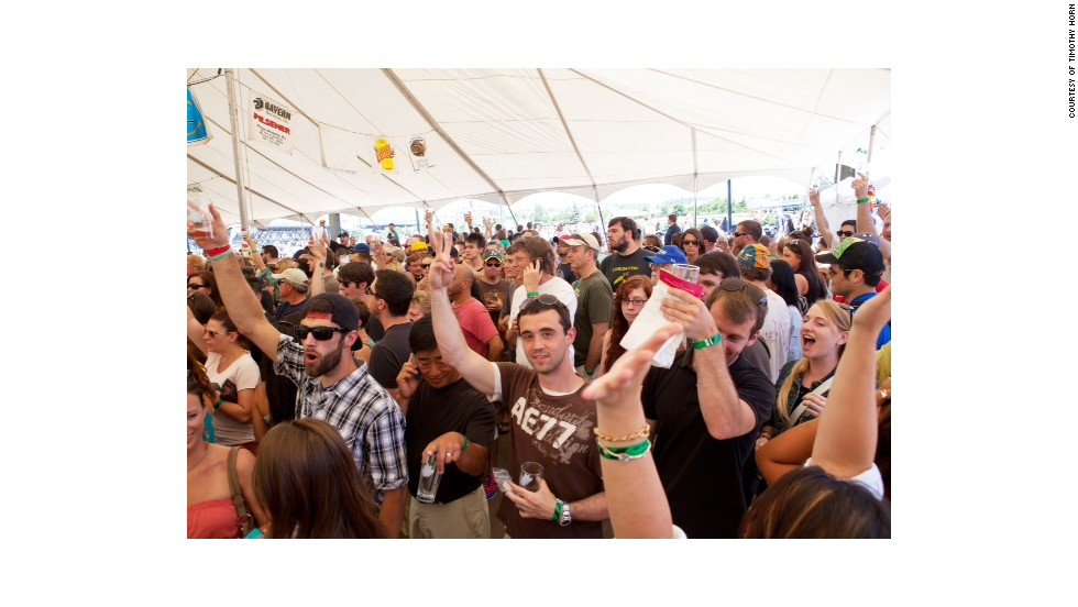 <strong>80,000:</strong> Number of people expected to attend this year's Oregon Brewers Festival in Portland, Oregon. Many come from around the world and country for the event. This year the festival will run July 23-27.