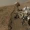 curiosity 1 year on mars selfie