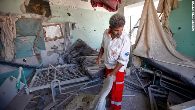 Hospital bombed in Gaza: 5 dead