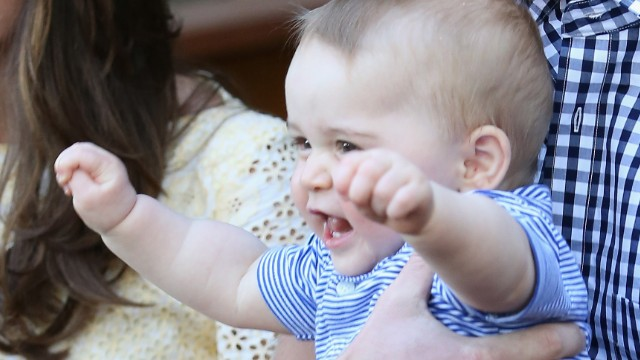 Prince George's eventful first year