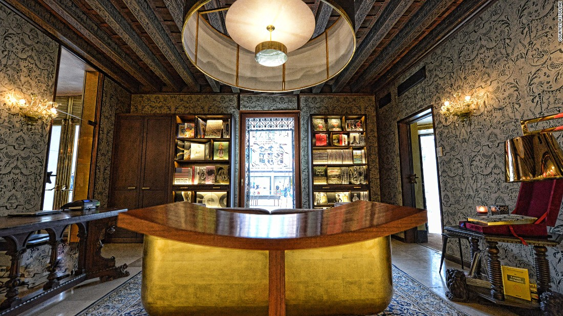 Luxury publisher Assouline's newest opening is in an 18th-century palazzo in Venice.