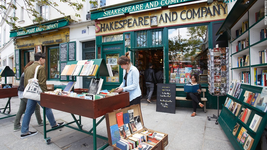 Paris Left Bank fixture Shakespeare and Company hosts writers-in-residence and awards its own literary prize to an aspiring writer every few years.