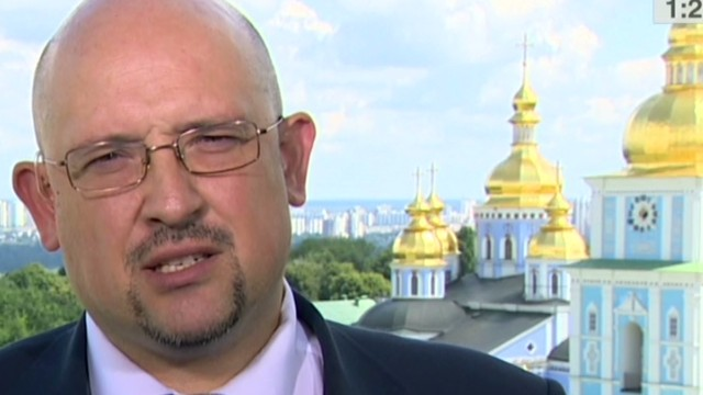 Ukraine official denies MH17 accusations