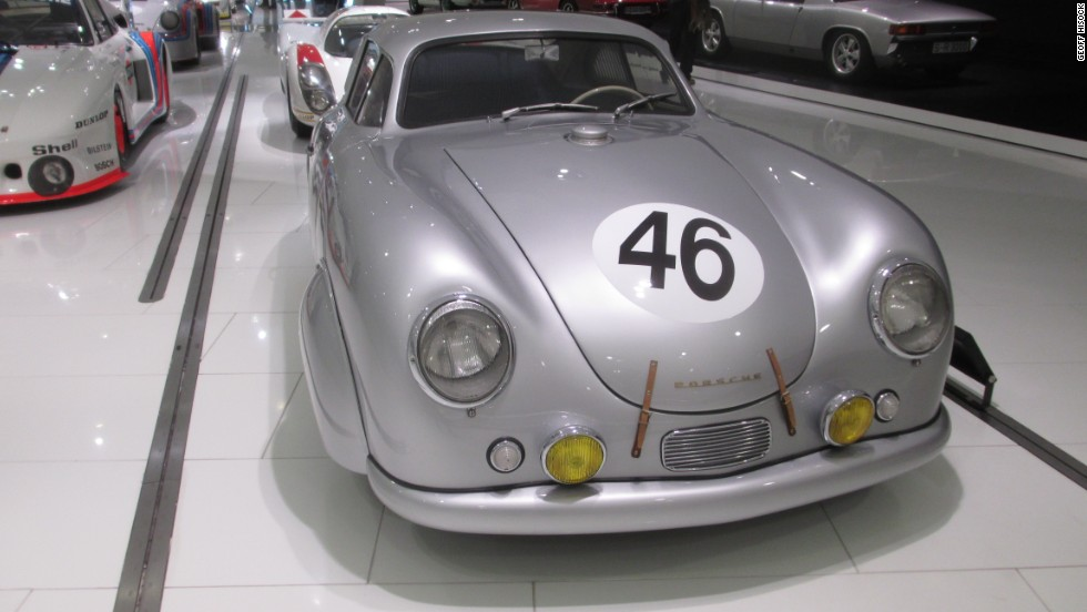 This Porsche 356 SL coupe finished in 20th place but scored a class victory in the 1951 Le Mans. It's now on display in the Porsche Museum near Stuttgart.