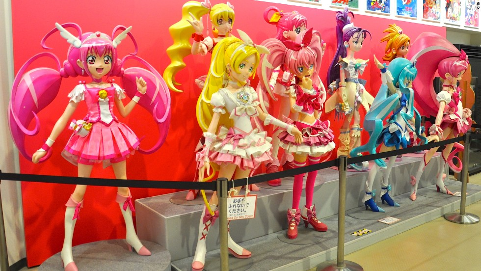 "The Anime Museum features displays, pictures, animation cells and other works highlighting some of its most famous shows, including cartoon ""Pretty Cure."""