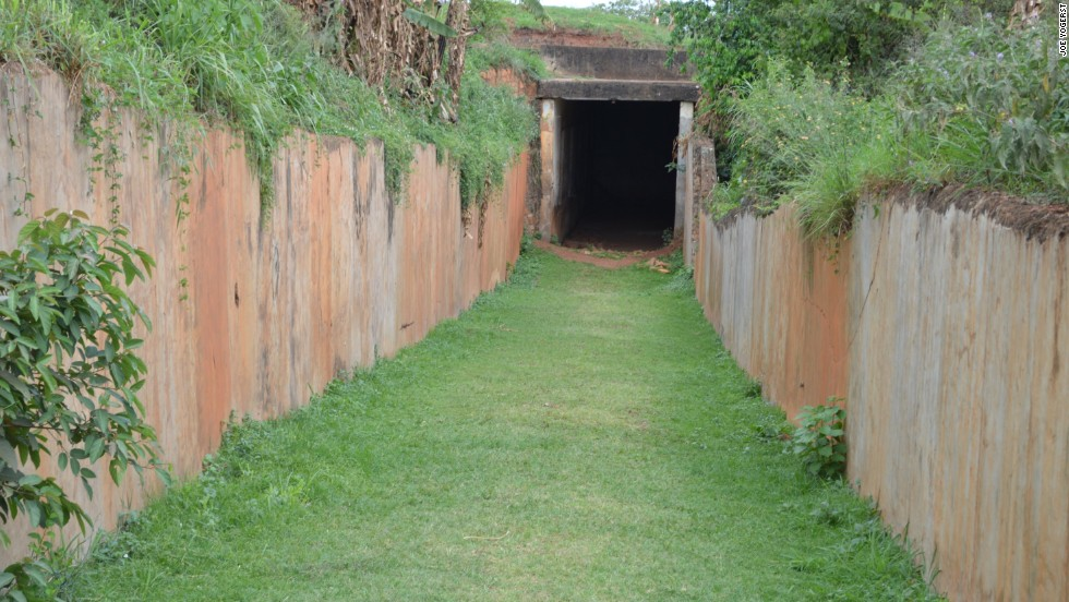 Originally built as an underground armory, this bunker on the grounds of Kampala's Lubiri Palace was turned into a torture chamber by the notorious dictator Idi Amin. It's estimated that more than 9,000 political prisoners died in captivity here.