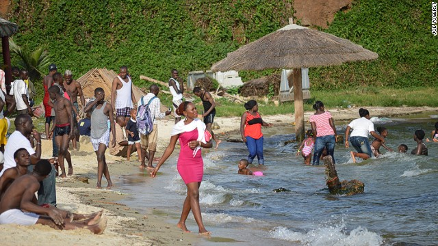 Beach resorts are a sign of Uganda's return to normality.