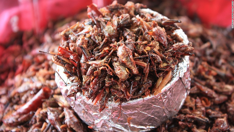 Compared to beef, chicken and fish, insects are cheaper to produce and require less land, water and feed. They are also higher in nutrients like iron and amino acids. Aspire believes increased access to insects would eradicate malnutrition in some communities.