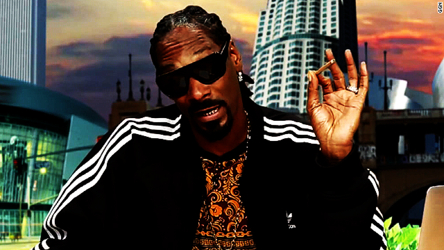 Did Snoop Dogg smoke pot in White House?
