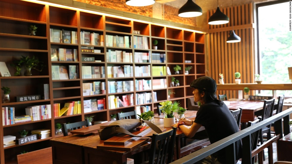 One of China's newest bookstores, 1200 Bookshop in Guangzhou is open 24 hours and offers a free stay to backpackers who apply by email in advance.
