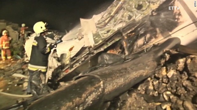 Dozens feared dead in Taiwan plane crash