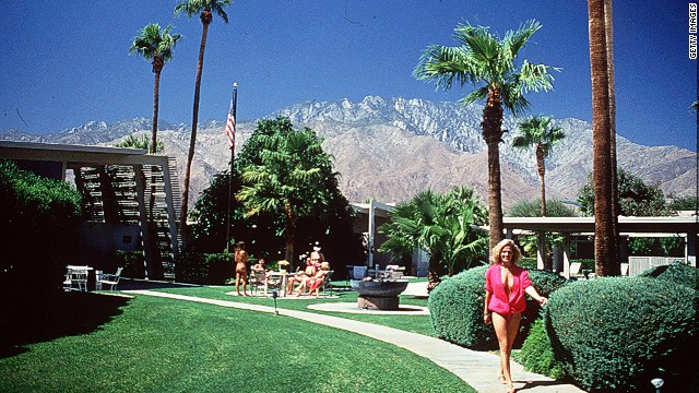Palm Springs is a popular desert vacation destination. (Condo in dispute not pictured.)