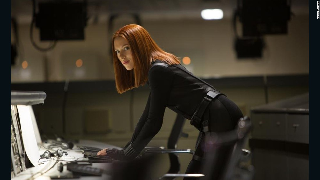 "Scarlett Johansson stole the movie in her first scene in ""The Avengers"" -- not an easy thing to do. Black Widow was pretty kickass in the film."