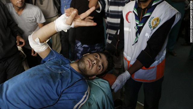 Gaza bombing impedes cease-fire talks