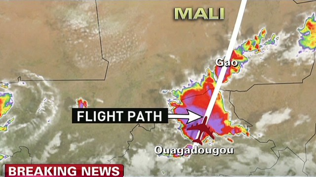 Air Algerie flight's tragic timeline