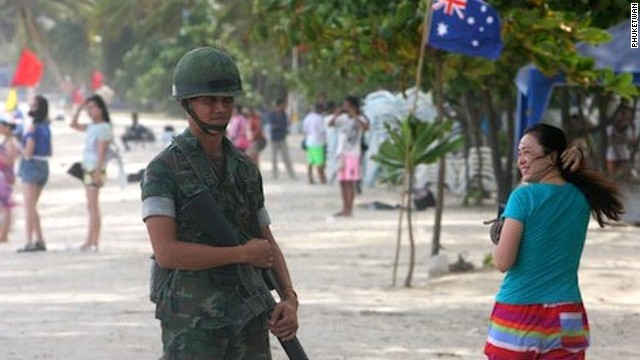 Post-coup: Patong Beach, Phuket.